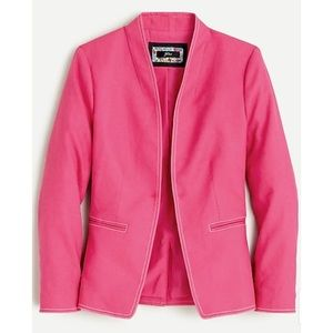 NWT J Crew Going Out Blazer in stretch linen
